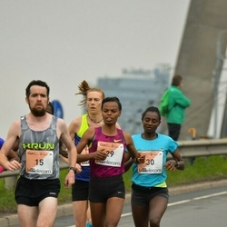 The 26th Lattelecom Riga Marathon - Robert Corbally (15), Mulunesh Zwedu Asefa (29), Abiyot Eshetu Deme (30)