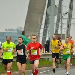 The 26th Lattelecom Riga Marathon - Mikhail Barchenkov (1367), Zigmunds Bībers (3358), Gintaras Andruska (4223)
