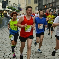 The 26th Lattelecom Riga Marathon - Saulius Kerza (1727), Tiziana Piccione (2749), Gintars Dzirvinskis (5219)