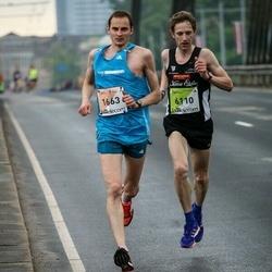 The 26th Lattelecom Riga Marathon - Renārs Roze (1663), Ivar Ivanov (6110)