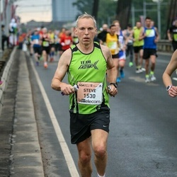 The 26th Lattelecom Riga Marathon - Steve Darby (1530)