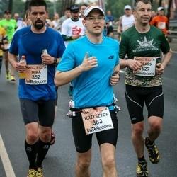 The 26th Lattelecom Riga Marathon - Mika Hirn (352), Krzysztof Zakrzewski (363)