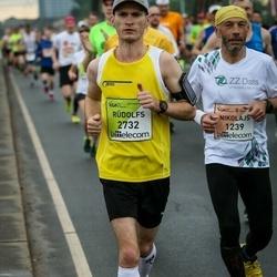 The 26th Lattelecom Riga Marathon - Nikolajs Lucāns (1239), Rūdolfs Leimanis (2732)