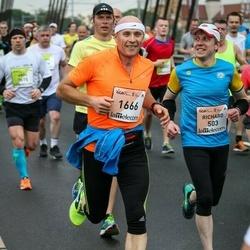The 26th Lattelecom Riga Marathon - Richard Peterson (503), Vaidas Tamošauskas (1666)