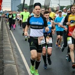 The 26th Lattelecom Riga Marathon - Olegs Živs (331), Valentīns Ščedrovs (1772)