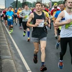 The 26th Lattelecom Riga Marathon - Aleksandrs Alksandrovs (1120), Jānis Kasalis (6135)