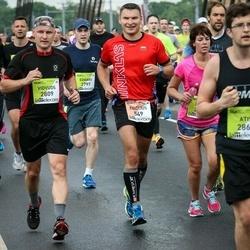 The 26th Lattelecom Riga Marathon - Egidijus Pakintis (549), Vidvuds Ziediņš (2809)