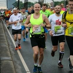 The 26th Lattelecom Riga Marathon - Māris Rumpe (400), Deniss Priščepovs (5501)