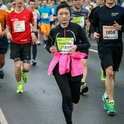The 26th Lattelecom Riga Marathon - Xiaoling Zeng (3181)