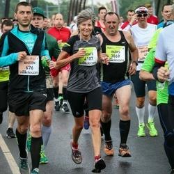 The 26th Lattelecom Riga Marathon - Anton Adamenkov (676), Inārs Supe (3869), Beate Knuth (4107)