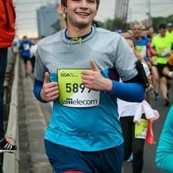 The 26th Lattelecom Riga Marathon - Edgars Grigorjevs (5899)