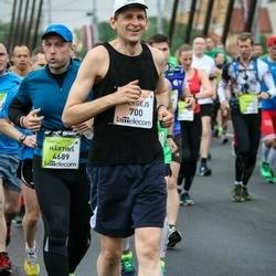 The 26th Lattelecom Riga Marathon - Sergejs Bednostins (700), Mārtiņš Rubulis (4689)