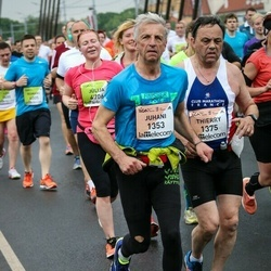 The 26th Lattelecom Riga Marathon - Juhani Vuorenmaa (1353), Thierry Laigle (1375)