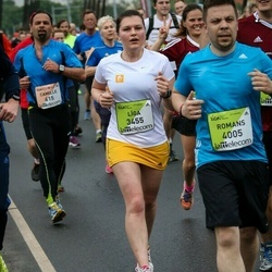 The 26th Lattelecom Riga Marathon - Līga Rube (3455), Romans Cvetkovs (4005)