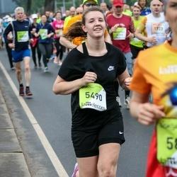 The 26th Lattelecom Riga Marathon - Jūlija Carjova (5490)
