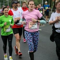 The 26th Lattelecom Riga Marathon - Eleanor Reid (961), Julia Vershinina (5052)