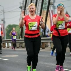 The 26th Lattelecom Riga Marathon - Kristīne Reinolde (4969), Sandra Grišina (4973)