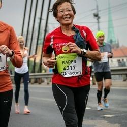 The 26th Lattelecom Riga Marathon - Karen Portier (4317)