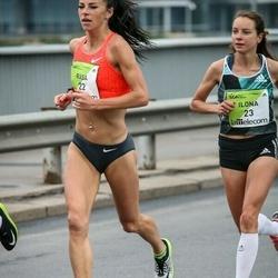 The 26th Lattelecom Riga Marathon - Rasa Drazdauskaite (22), Ilona Marhele (23)