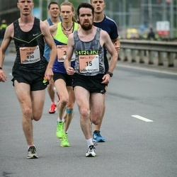 The 26th Lattelecom Riga Marathon - Robert Corbally (15), Joep Kluwen (830)