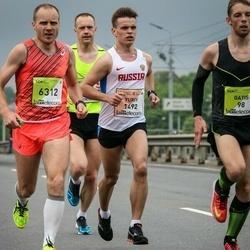 The 26th Lattelecom Riga Marathon - Yuriy Vinogradov (1492), Edgars Lankups (6312)