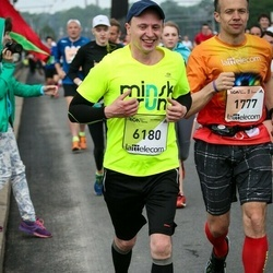 The 26th Lattelecom Riga Marathon - Oleg Zasov (1777), Aliaksei Maslakou (6180)