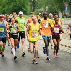 The 26th Lattelecom Riga Marathon - Mulunesh Zwedu Asefa (29), Ernestas Vedeikis (418)