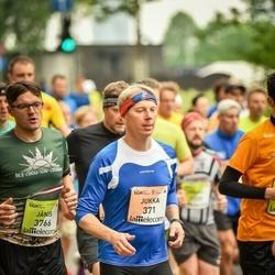 The 26th Lattelecom Riga Marathon - Jukka Immonen (371), Jānis Garisons (3766)