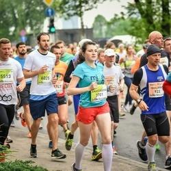 The 26th Lattelecom Riga Marathon - Anastasiya Akhremka (3701), Endijs Bošs (5513), Martynas Kvasis (6025)