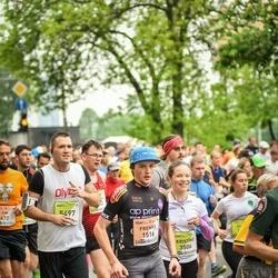 The 26th Lattelecom Riga Marathon - Frenks Melvers (1516), Kristīne Markus (3506), Andris Grīnbergs (5497)