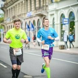 The 26th Lattelecom Riga Marathon - Andrius Jurksaitis (1720), Dovydas Kaminskas (1811)