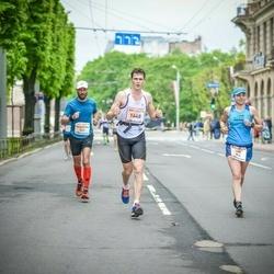 The 26th Lattelecom Riga Marathon - Feodorów Wojciech (341), Inga Cimolonskaitė (804), Ilzīte Dokāne (1648)