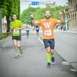 The 26th Lattelecom Riga Marathon - Evgenii Vorobev (548), Dmitrijs Smirnovs (1614)