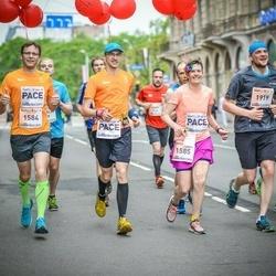 The 26th Lattelecom Riga Marathon - Gatis Kveders (1584), Inga Kāpiņa (1585), Toms Rusovs (1919)