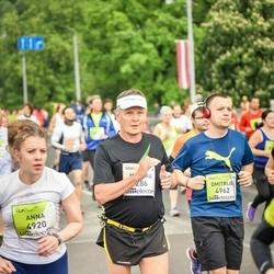 The 26th Lattelecom Riga Marathon - Markku Lamminmäki (286), Anna Garbuze (4920)