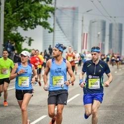 The 26th Lattelecom Riga Marathon - Antanas Steponavičius (2677), Indrė Staražinskaitė (2681), Giedrius Ambrozevicius (6465)
