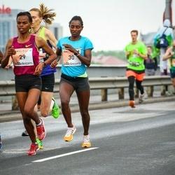 The 26th Lattelecom Riga Marathon - Mulunesh Zwedu Asefa (29), Abiyot Eshetu Deme (30)