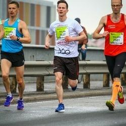 The 26th Lattelecom Riga Marathon - Valdis Nilovs (2501), Milan Hesko (3637), Aigars Salenieks (4321)