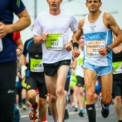 The 26th Lattelecom Riga Marathon - Francesco Rinaldi Tufi (357), James Etherington (3812)