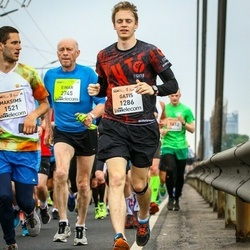 The 26th Lattelecom Riga Marathon - Gatis Melbārdis (1286), Agnese Stikute (3020)