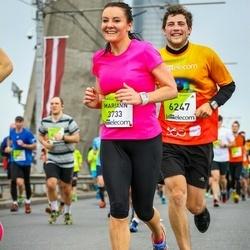 The 26th Lattelecom Riga Marathon - Mariann Halvorsen (3733), Aleksis Merga (6247)