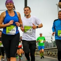 The 26th Lattelecom Riga Marathon - Ieva Jaudzeme (5224), Agnis Berzins (6013)