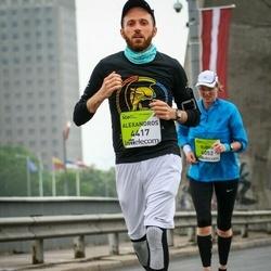 The 26th Lattelecom Riga Marathon - Alexandros Spyrantis (4417)