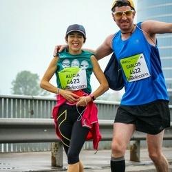 The 26th Lattelecom Riga Marathon - Carlos Dorronsoro (4622), Alicia Hernandez (4623)