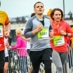 The 26th Lattelecom Riga Marathon - Agnese Zardina (4492), Māris Bušs (5301)