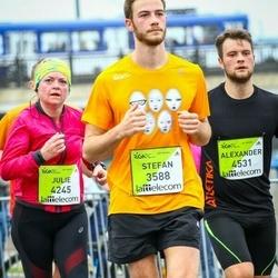 The 26th Lattelecom Riga Marathon - Stefan Pycha (3588), Julie Burton (4245), Alexander Pycha (4531)