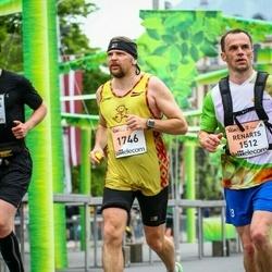 The 26th Lattelecom Riga Marathon - Renarts Andersons (1512), Ainārs Gudēvics (1746)