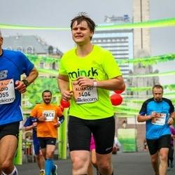 The 26th Lattelecom Riga Marathon - Nadio Grigis (1055), Aliaksei Liavonau (1404)
