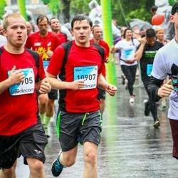 The 26th Lattelecom Riga Marathon - Agris Ēķups (10905), Didzis Kiršteins (10907)