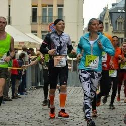 The 26th Lattelecom Riga Marathon - Gatis Kaušs (1437), Ilze Jansone (5910)